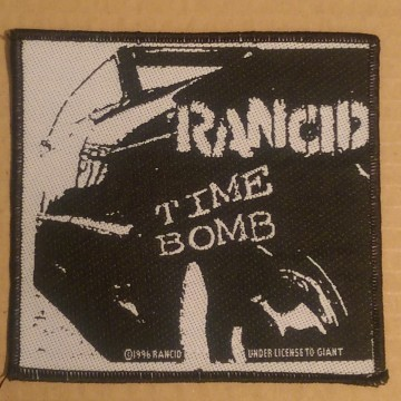Rancid Time Bomb Patch