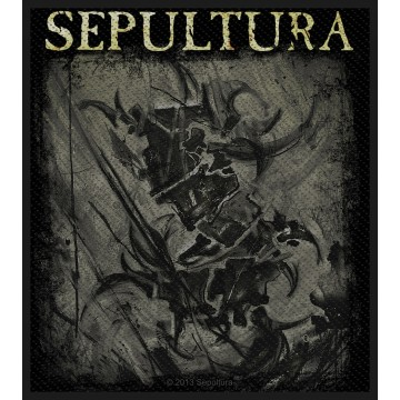 Sepultura Charcoal Logo Patch