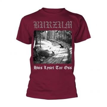 Burzum Lyset Tar Oss (Maroon) T-Shirt