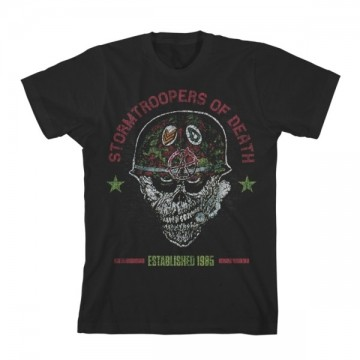S.O.D. Stormtroopers Of Death Helmet Head T-Shirt