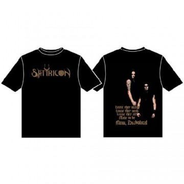 Satyricon Now Diabolical Band T-Shirt