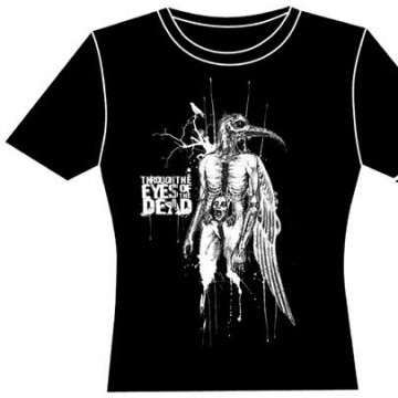 Through The Eyes Of The Dead Bird Man Girls T-Shirt.
