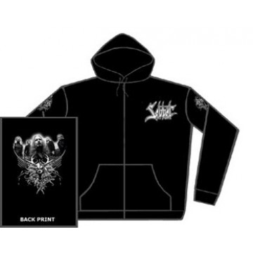 Sabbat Logo 1 Zipped Hooded Sweatshirt