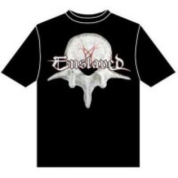 Enslaved Vertebrae Metal T-Shirt