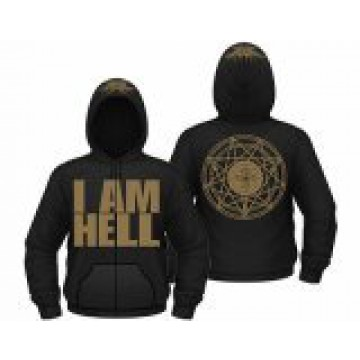 Annotations Of An Autopsy I Am Hell Hooded Sweatshirt.