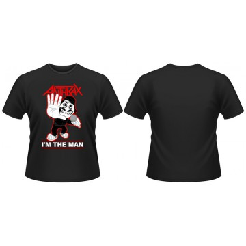 Anthrax I'M The Man T-Shirt