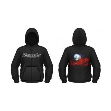 Rhapsody Of Fire From Chaos To Eternity Zipped Hooded Sweatshirt