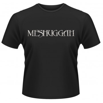 Meshuggah Distressed Logo T-Shirt