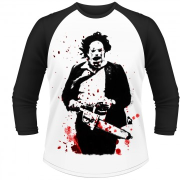The Texas Chainsaw Massacre - Leatherface Long Sleeve Baseball Shirt