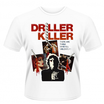 Plan 9 - Driller Killer Driller Killer Film (Poster) T-Shirt