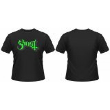 Ghost Logo (Green) T-Shirt.