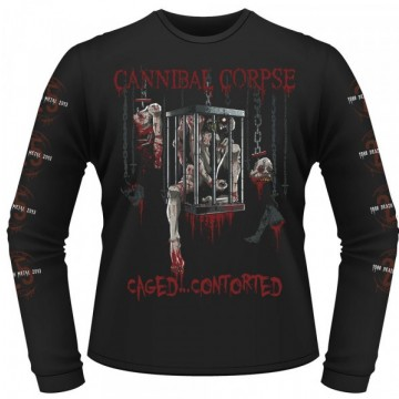 Cannibal Corpse Caged Contorted Longsleeve Shirt.