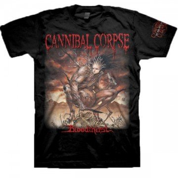 Cannibal Corpse Bloodthirst T-Shirt, Front & Back Print