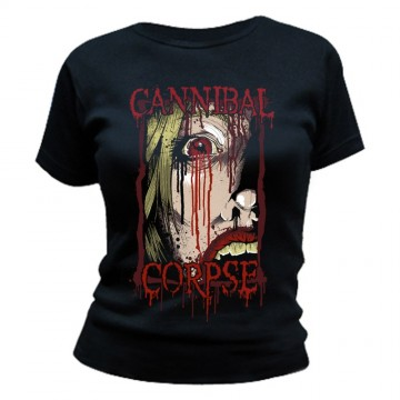 Cannibal Corpse Face Womens T-Shirt