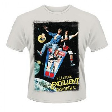 Bill And Ted's Excellent Adventure Poster T-Shirt