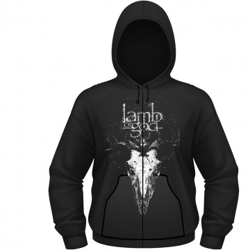 Lamb Of God Candle Light Zipped Hoodie
