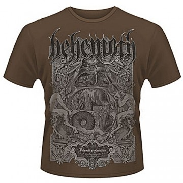 Behemoth Leviathan T-Shirt : X-Large.