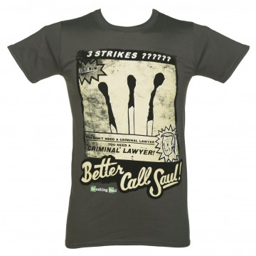 Breaking Bad Better Call Saul, Three Strikes T-Shirt