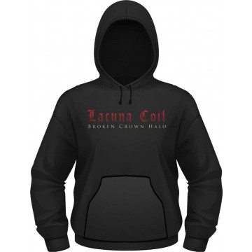 Lacuna Coil Broken Crown Halo Hooded Sweatshirt