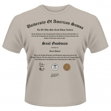 Better Call Saul University Certificate T-Shirt