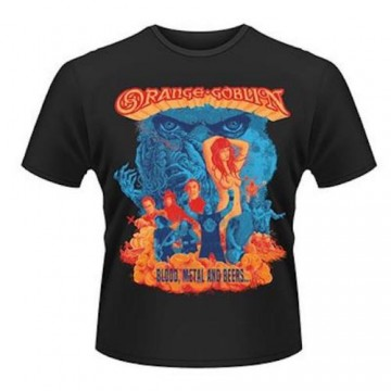 Orange Goblin Blood Metal And Beers T-Shirt