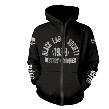 Black Label Society SDMF Zipped Hoodie