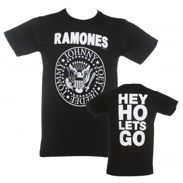 Ramones Circle Hey Ho T-Shirt