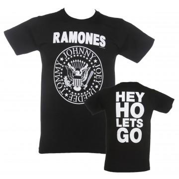 Ramones Circle Hey Ho T-Shirt