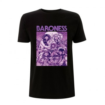 Baroness Purple Cover T-Shirt