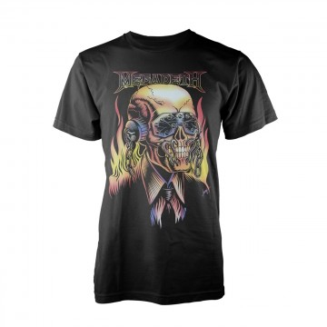 Megadeth Flaming Vic T-Shirt