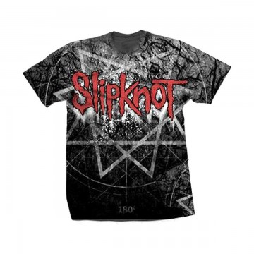 Slipknot Giant Star Allover Print T-Shirt