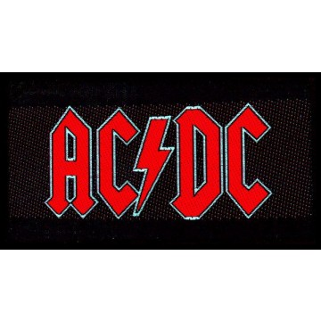 AC-DC Red Logo Patch