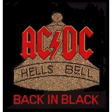 AC-DC Hells Bells Patch
