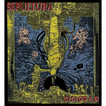 Sepultura Chaos Ad Album Cover Patch