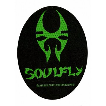 Soulfly Oval Logo Patch
