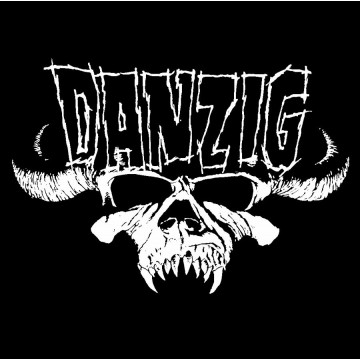 Danzig Skull Logo Patch