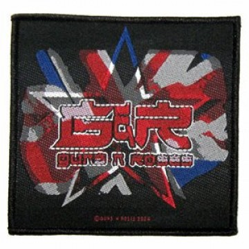 Guns N Roses Union Jack Patch