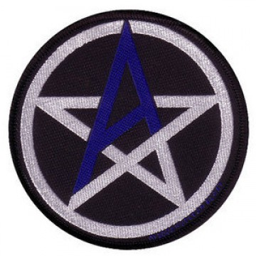 Anthrax Pentagram Patch