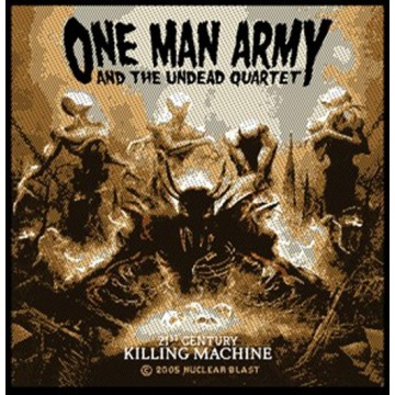 One Man Army Killing Machine Patch