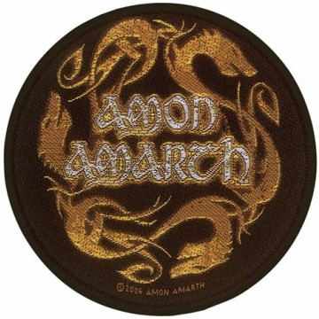 Amon Amarth Dragons Circular Patch