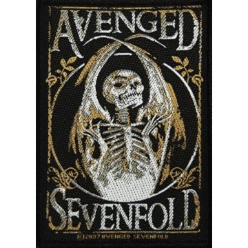 Avenged Sevenfold Skeleton Patch