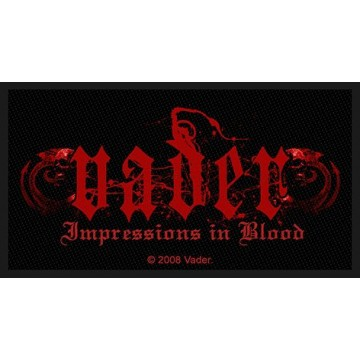 Vader Impressions In Blood Patch