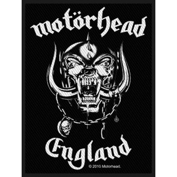 Motorhead England Patch