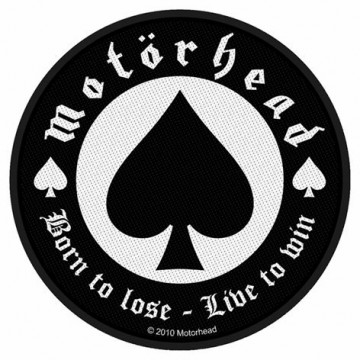 Motorhead Born To Lose Patch