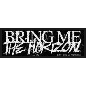 Bring Me The Horizon (Bmth) Horror Logo Patch