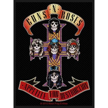 Guns N Roses (GnR) Appetite Patch