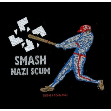 Smash Nazi Scum Patch