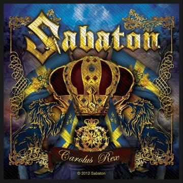 Sabaton Carolus Rex Patch