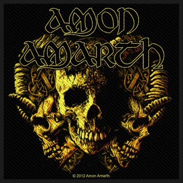 Amon Amarth Loki Patch