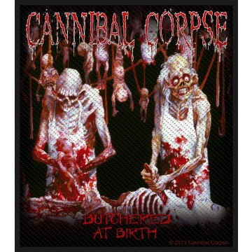 Cannibal Corpse Butchered At Birth Patch